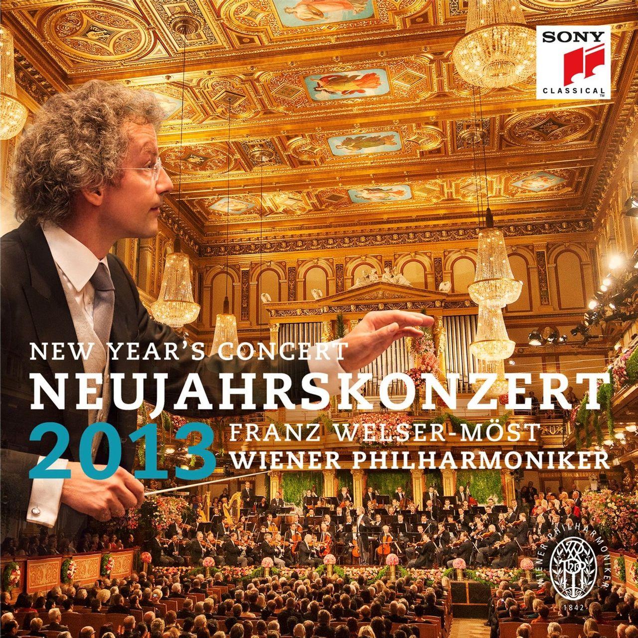 2013维也纳新年音乐会CD封面