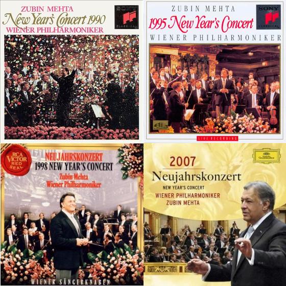 祖宾·梅塔指挥过的维也纳新年音乐会